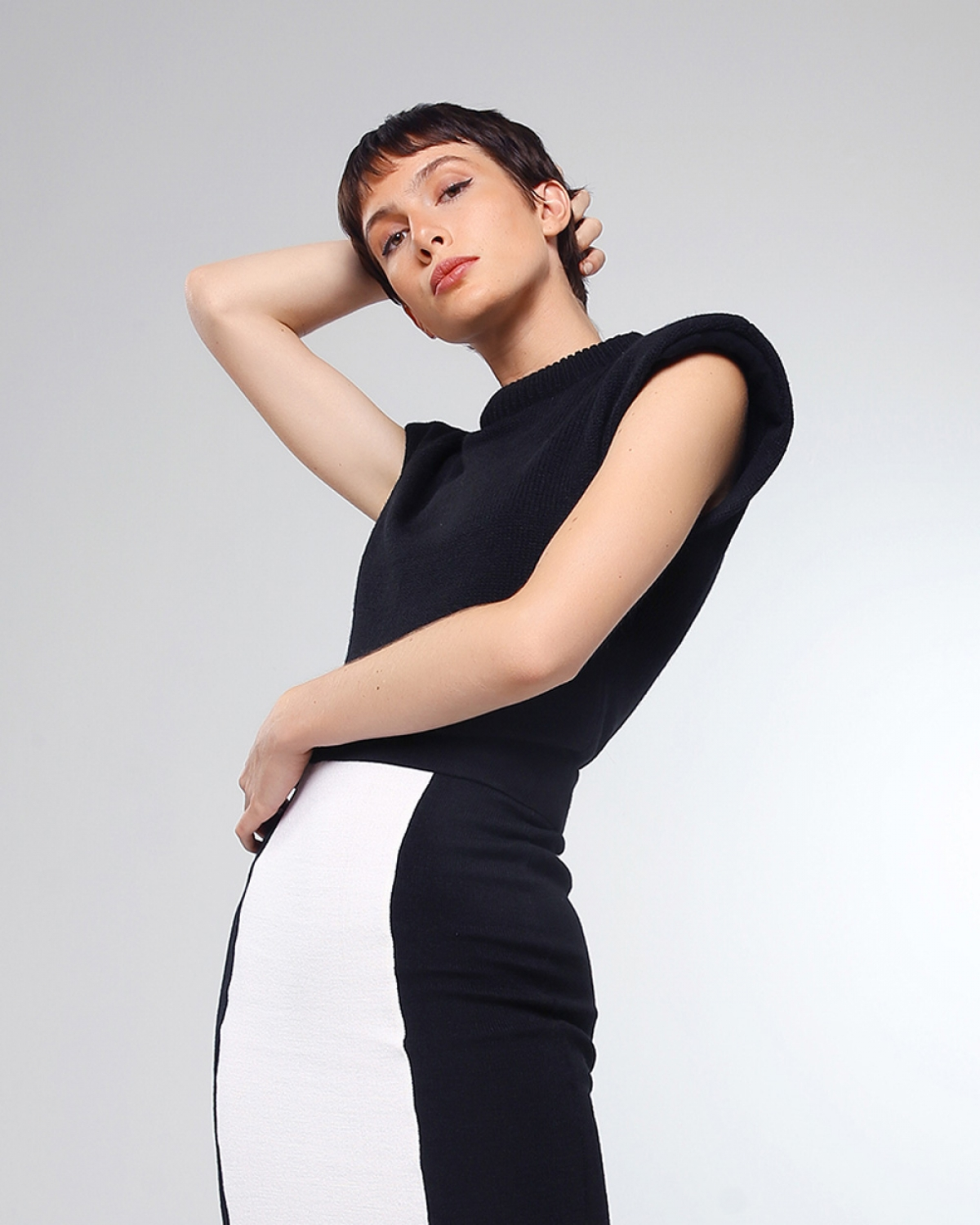 80′s Sleeveless Knitted Top