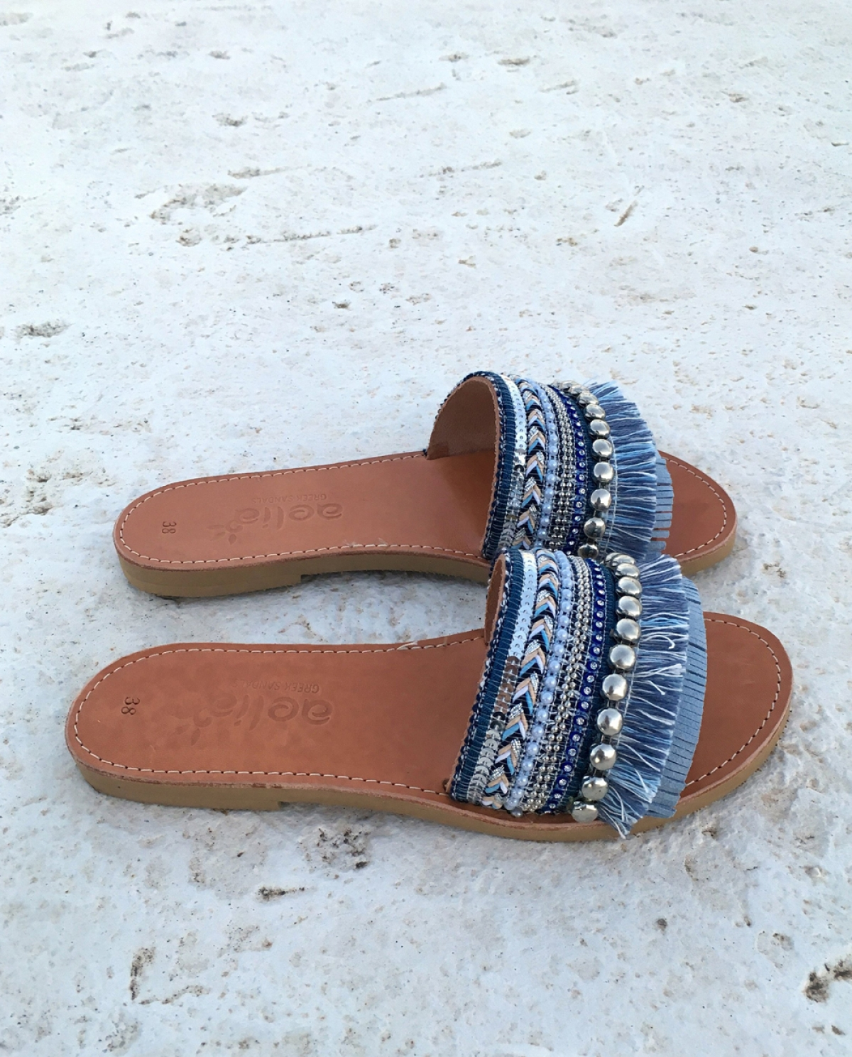 Adelia Embellished Slides