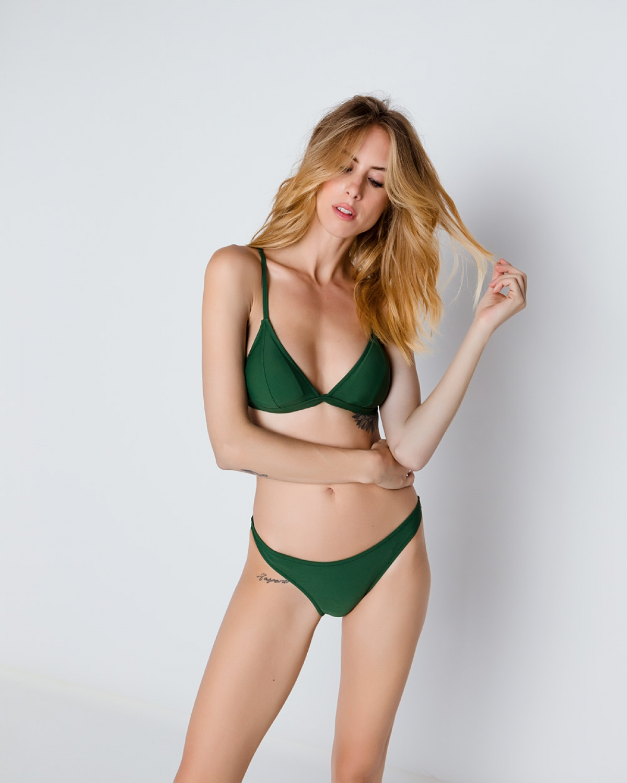 Alkes Savana Green Bikini