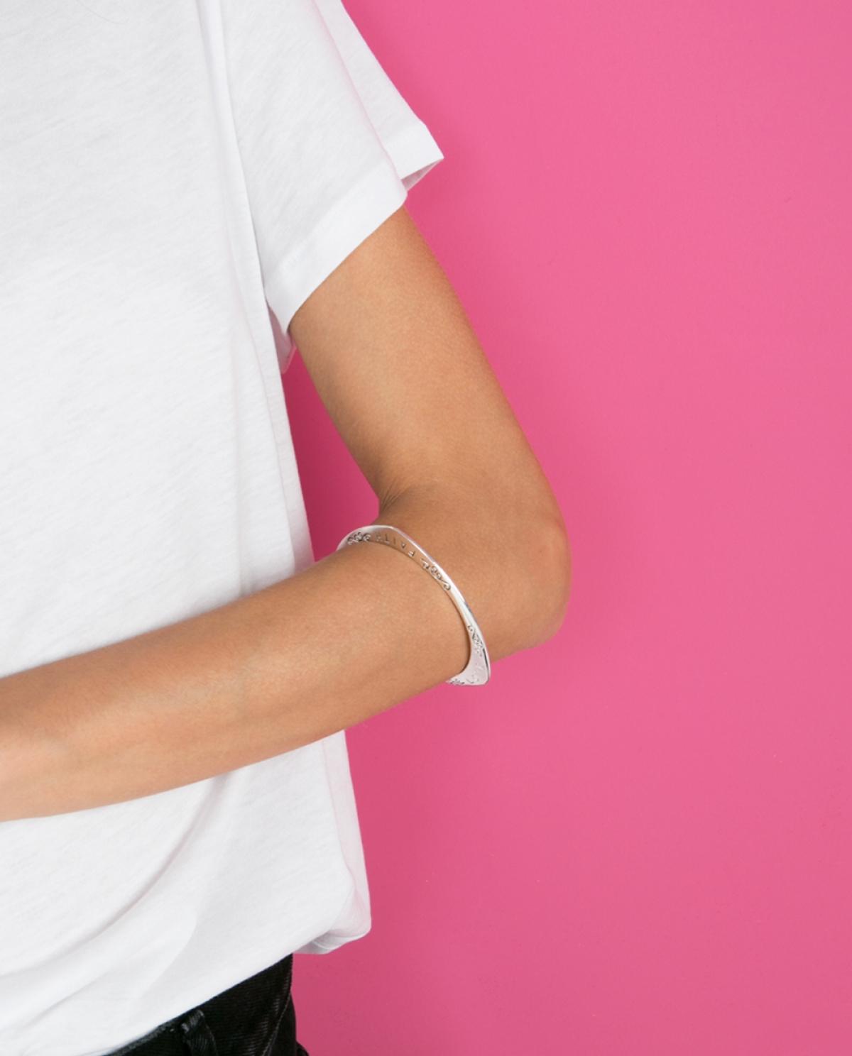 Triangle Silver Bracelet