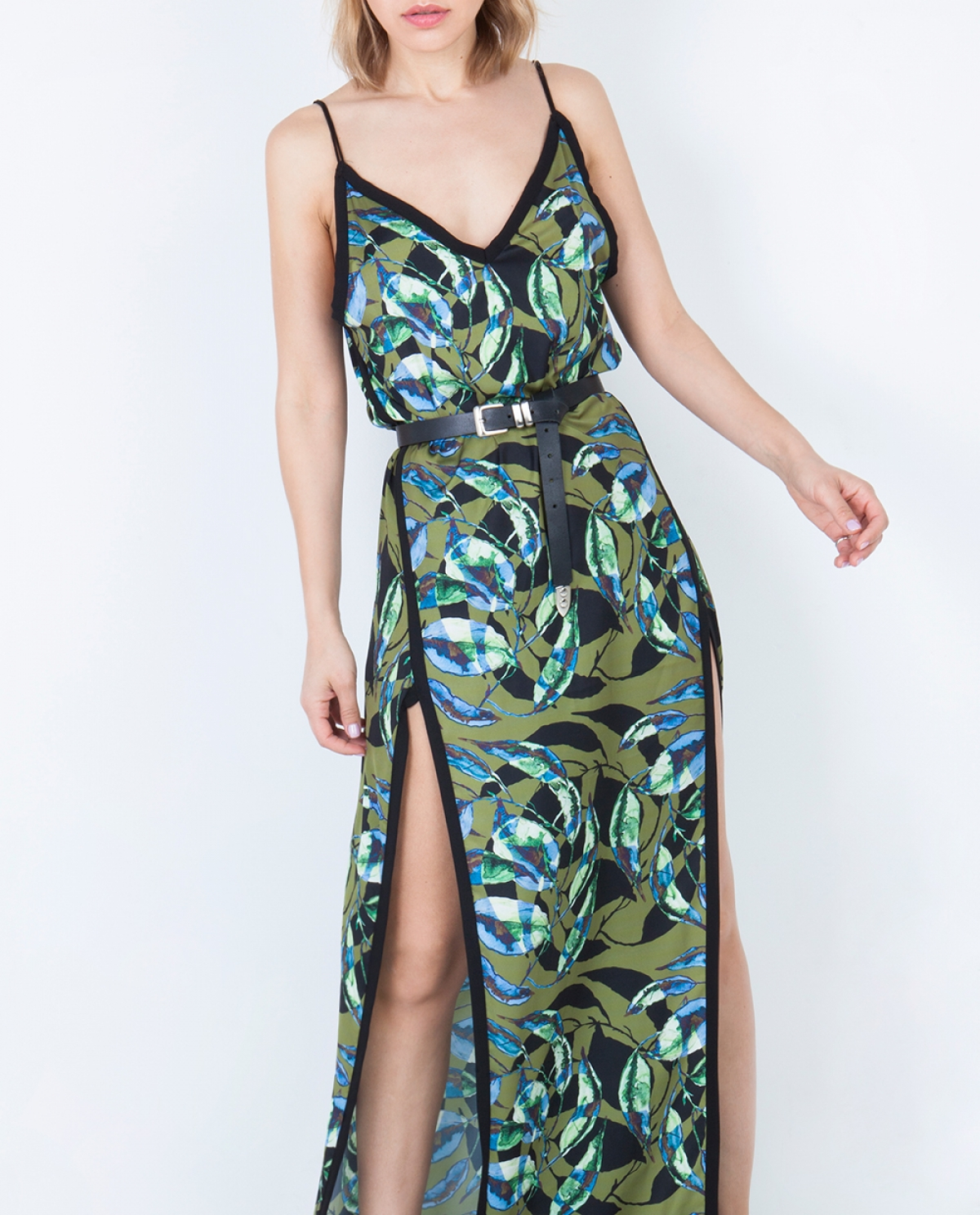 Alpina Maxi Printed Dress
