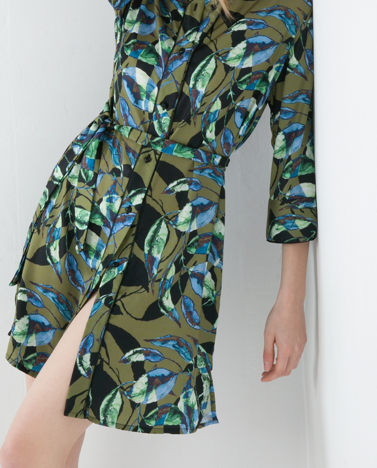 Alpina Mini Printed Shirt-dress