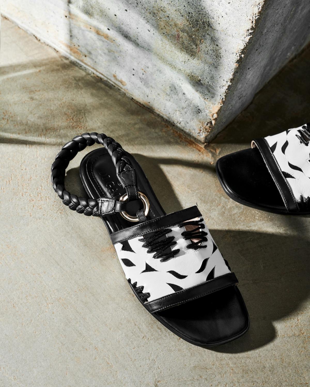 ANNABEL White Sandals