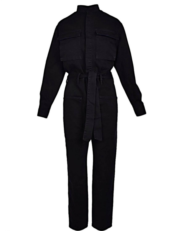 Army Jean Jumpsuit Black