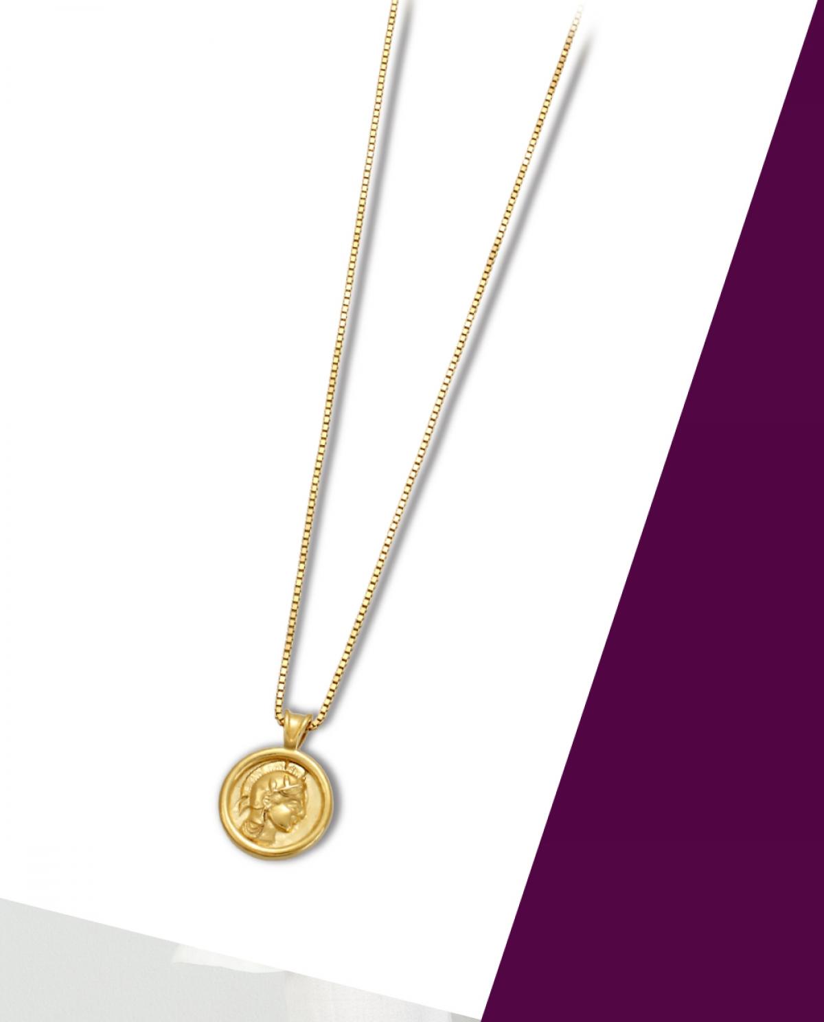 Athena's Coin Necklace