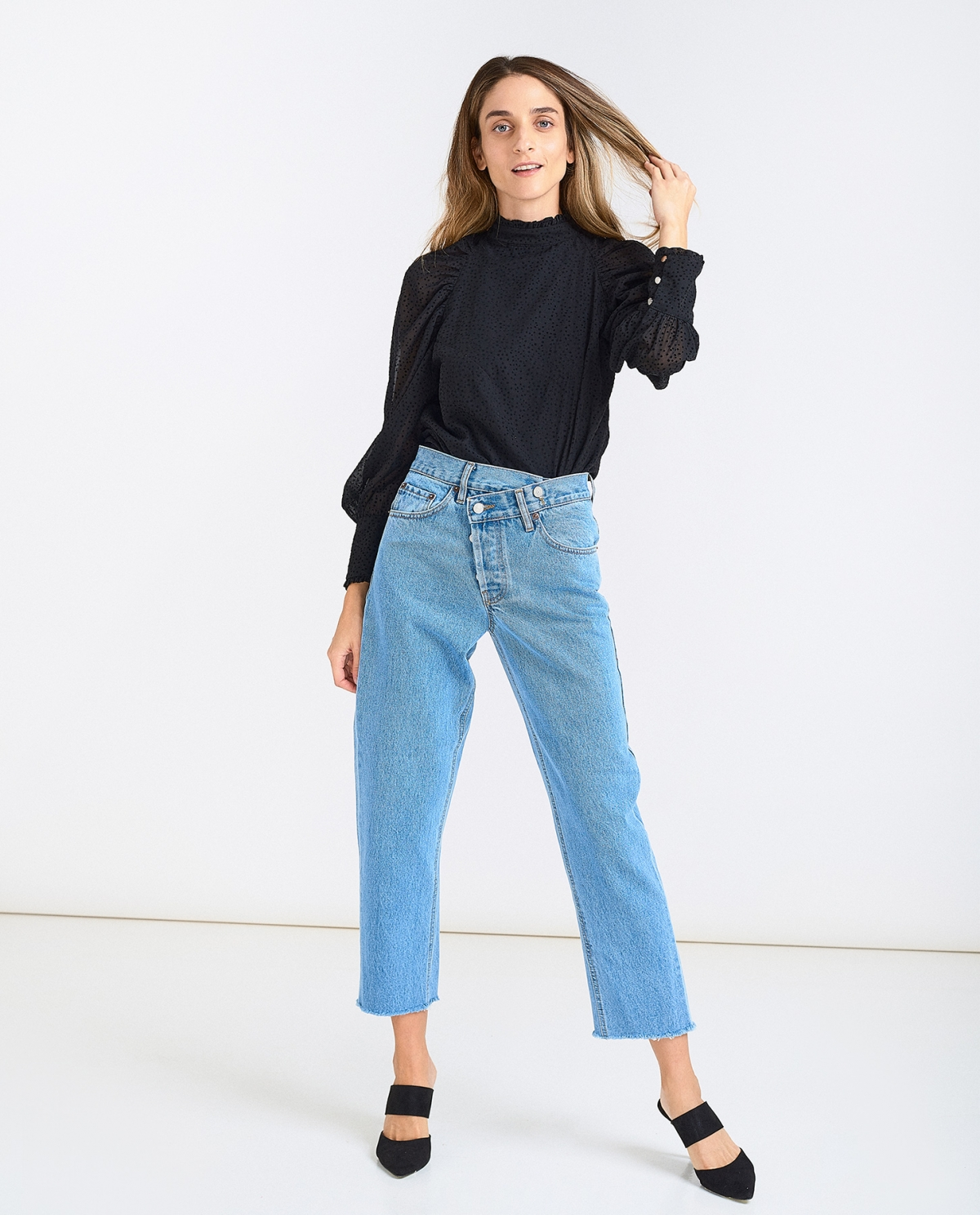 Barbara Crooked Medium Jeans