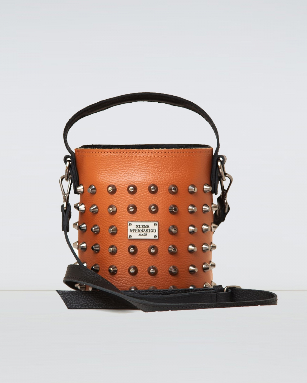 Basket Cognac Small Bag