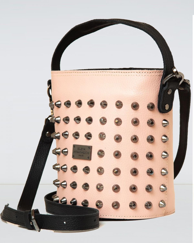 Basket Nude Large Bag