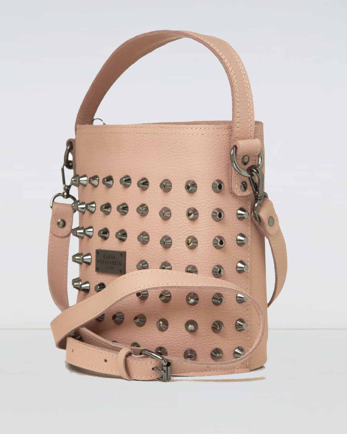 Basket Nude Large Bag