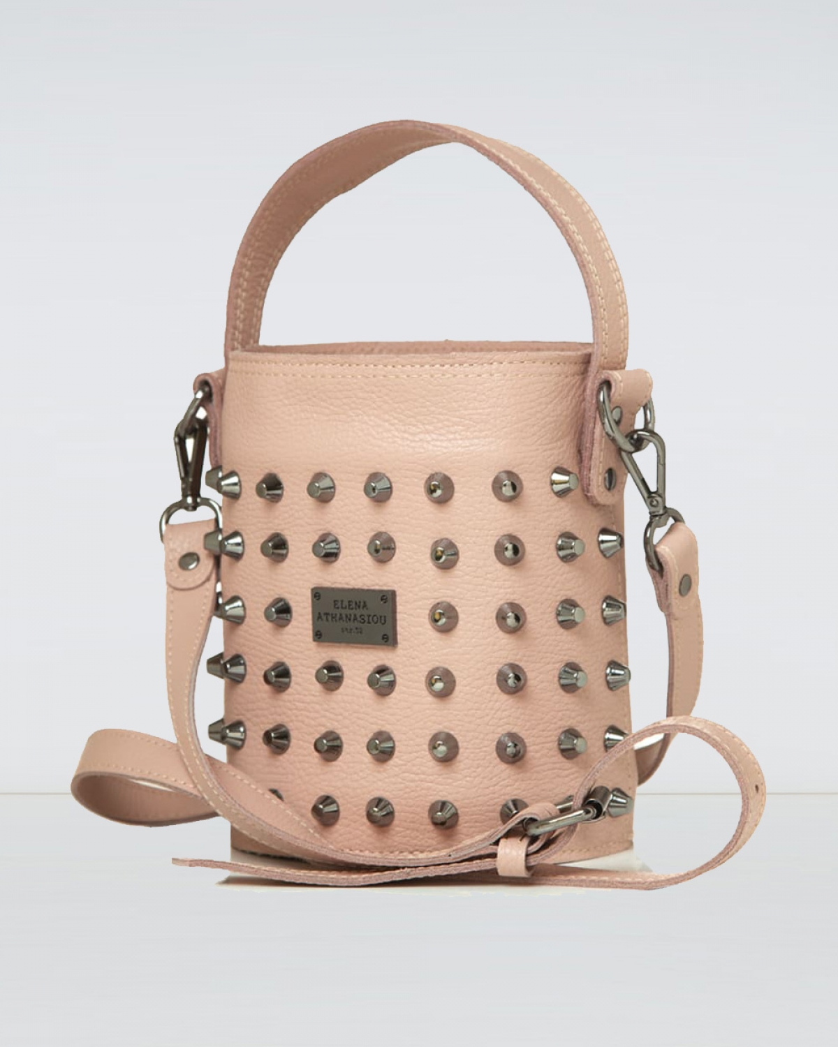 Basket Nude Small Bag