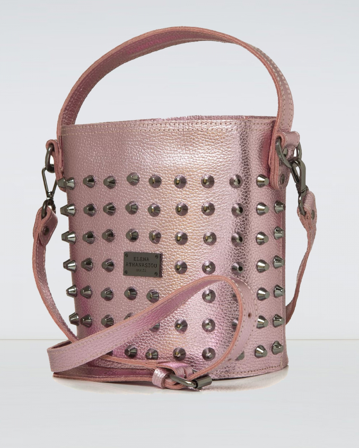 Basket Party Pink Large Bag