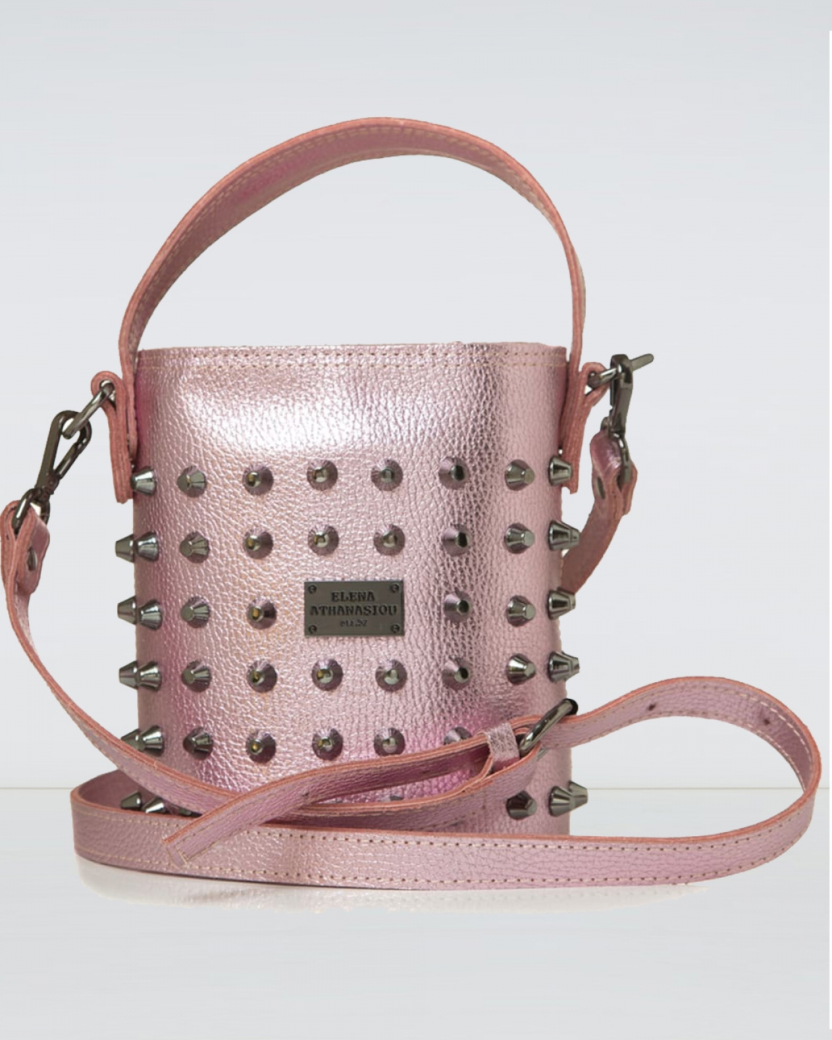 Basket Party Pink Small Bag