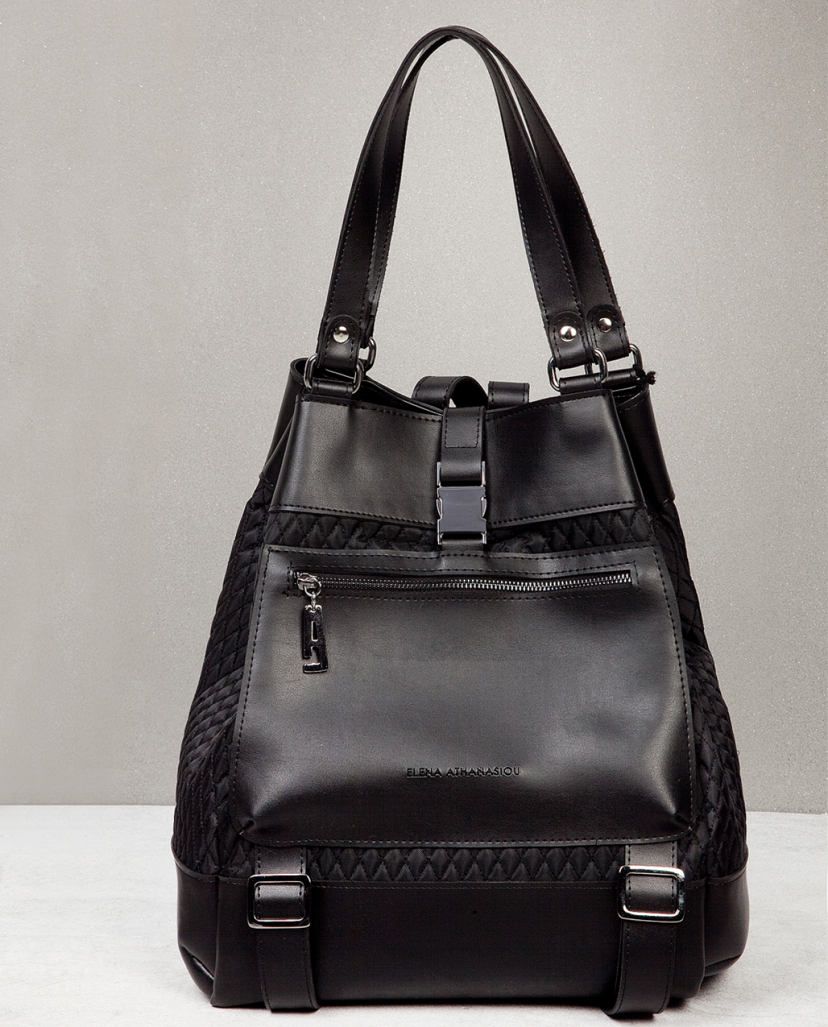 Black Comfort Backpack