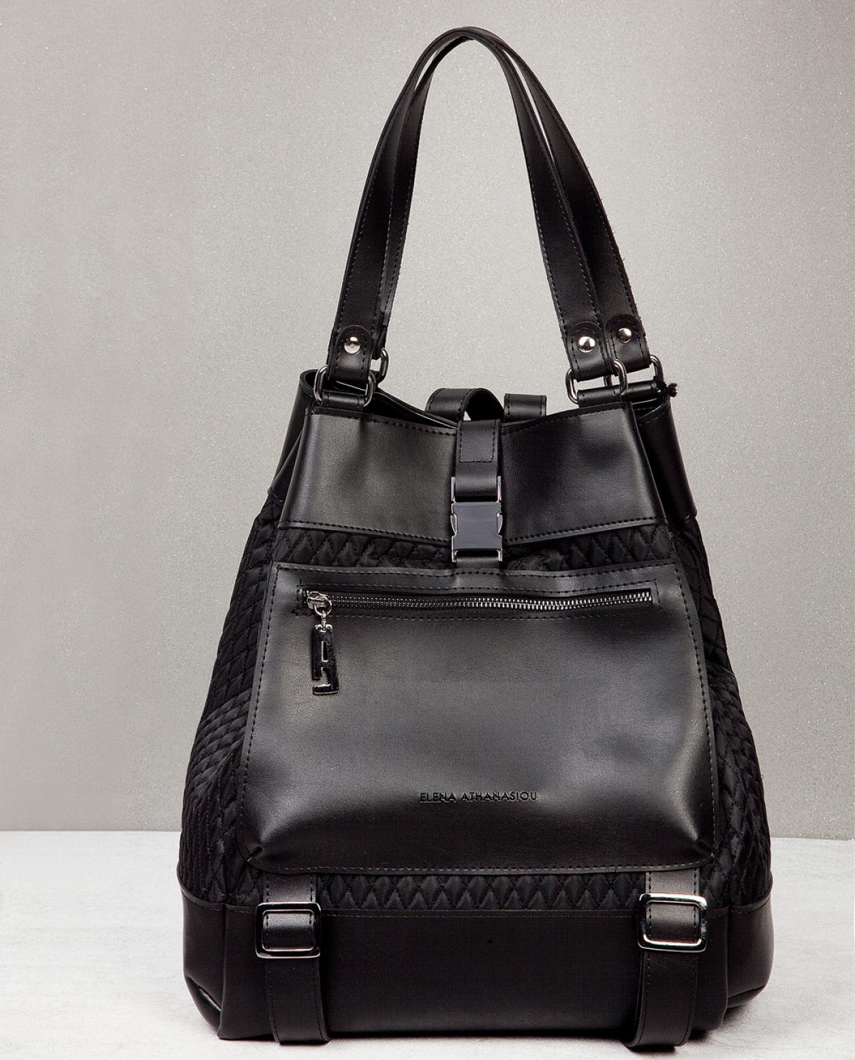 Black Comfort Backpack
