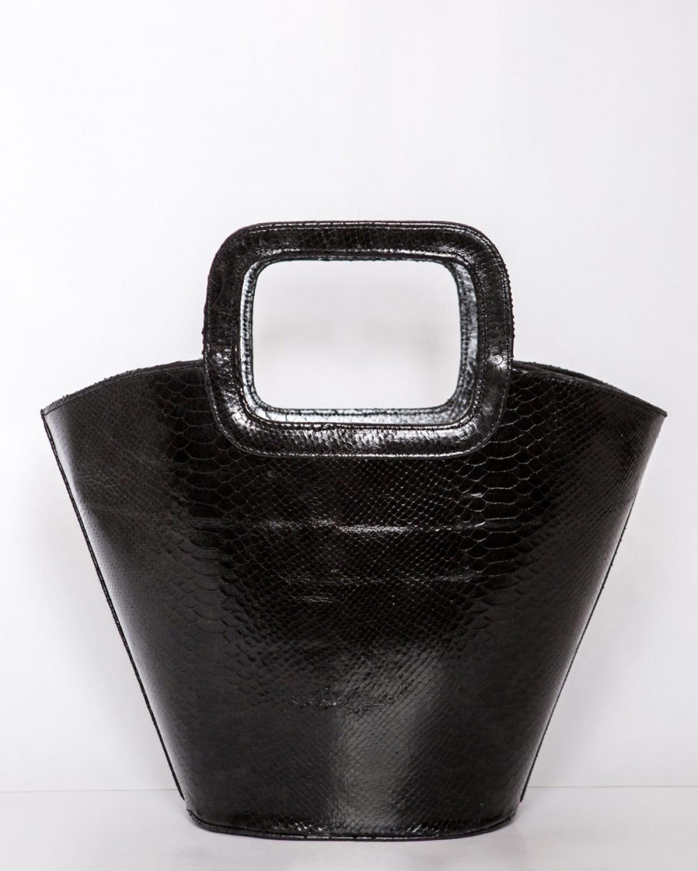Black Busket Bag