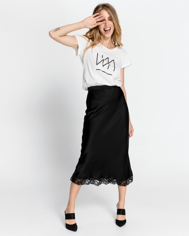 Black Stone Skirt
