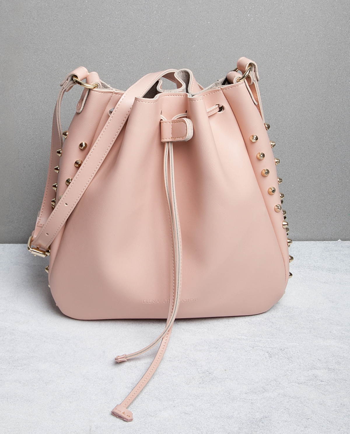 Bling Pink Bucket Bag