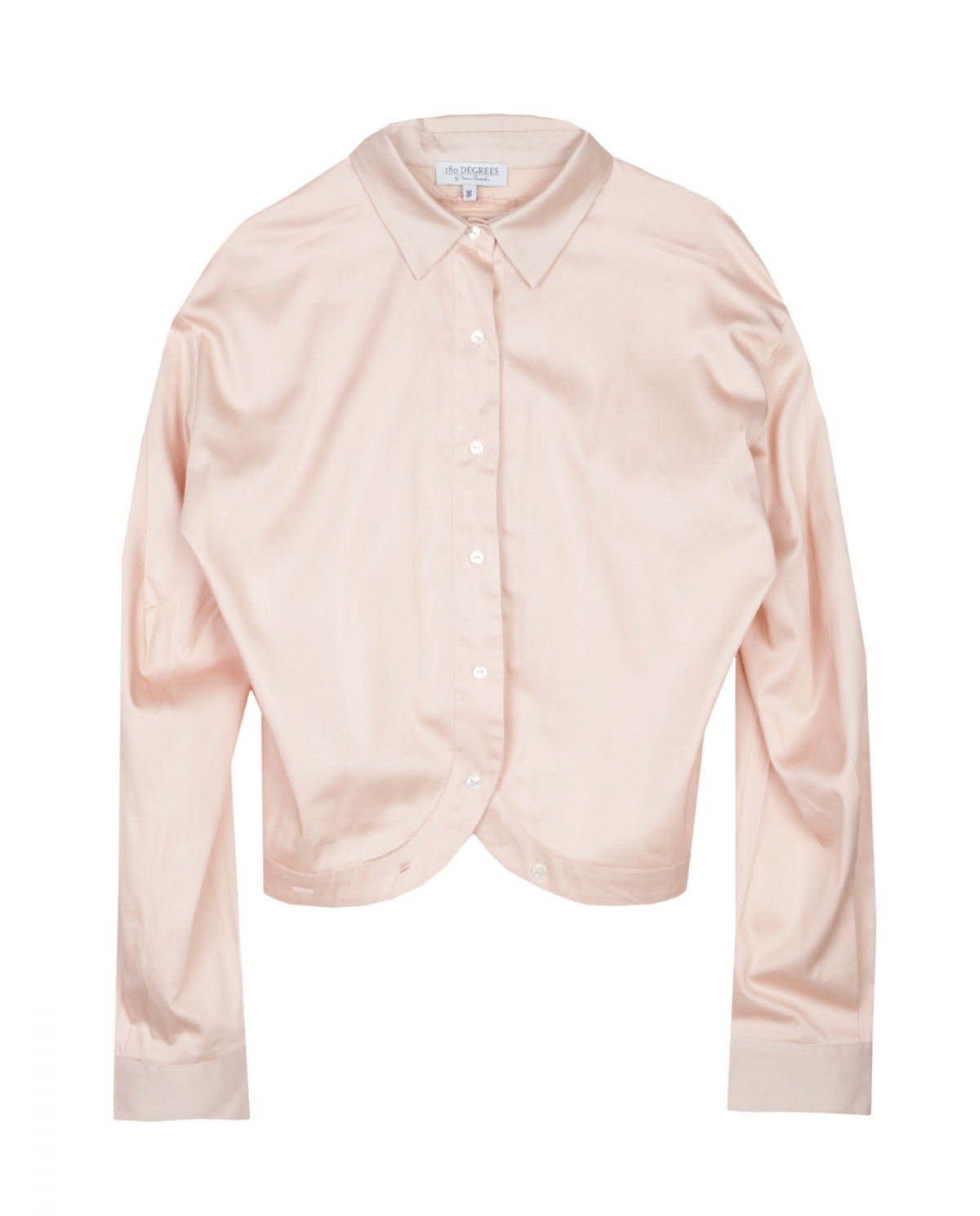 Blush Pink Shirt - Fashionnoiz