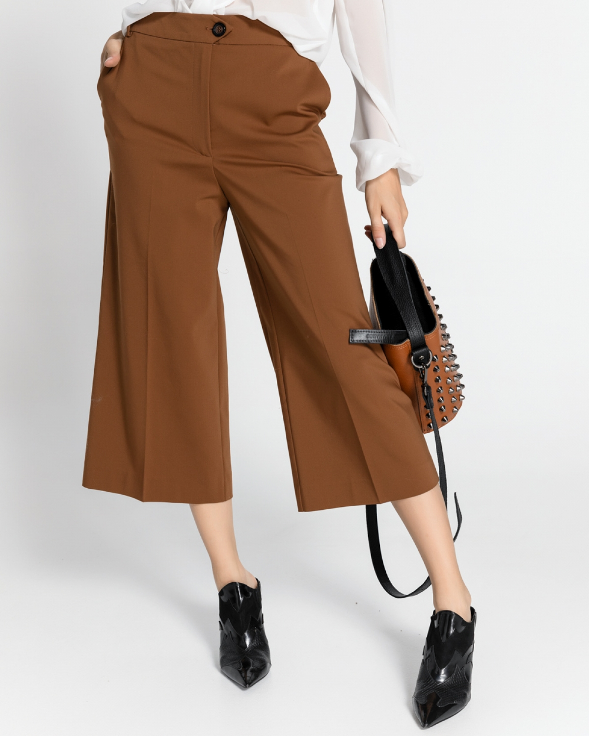 Brown Culotte