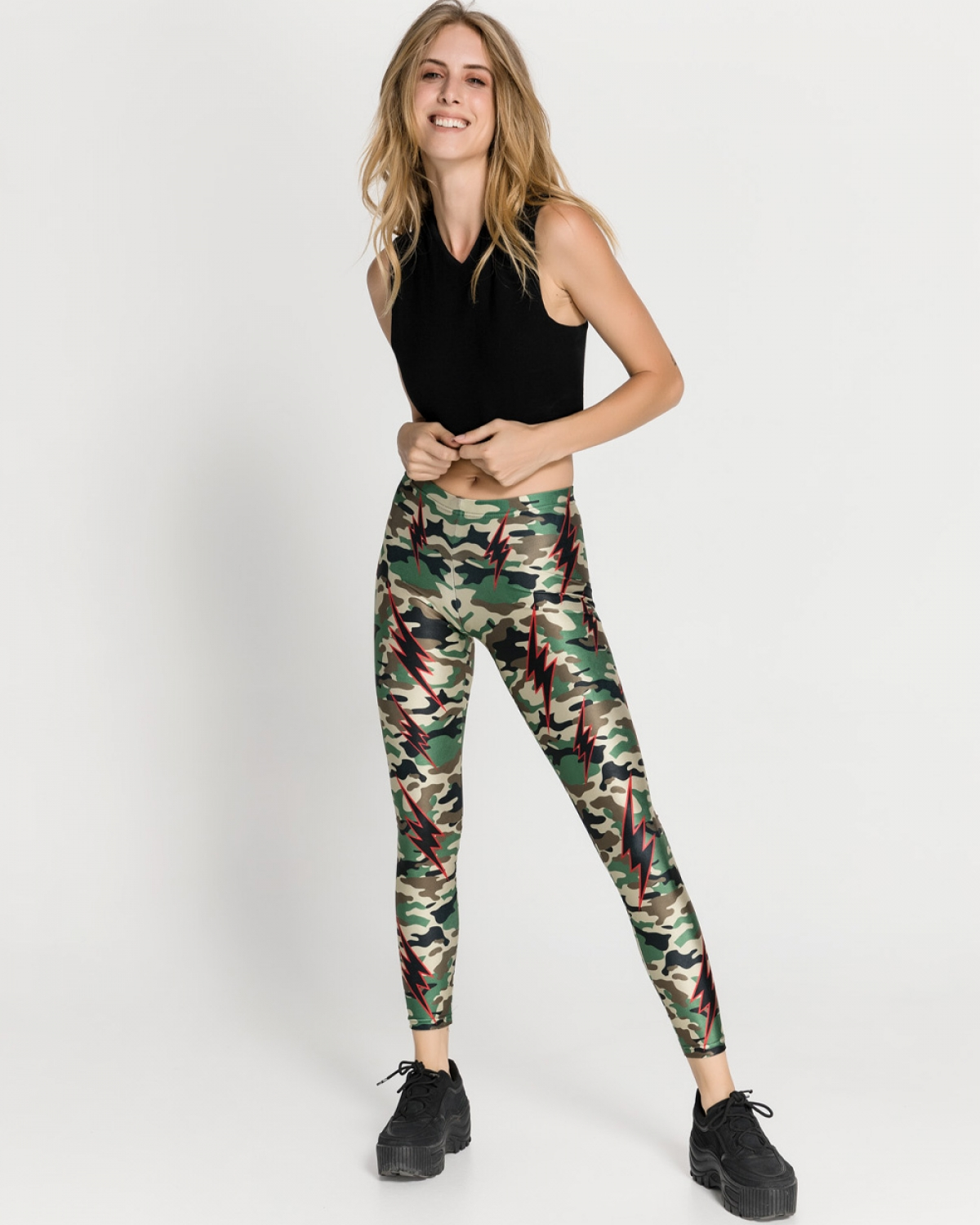 Camo Thunderstrikes Leggings
