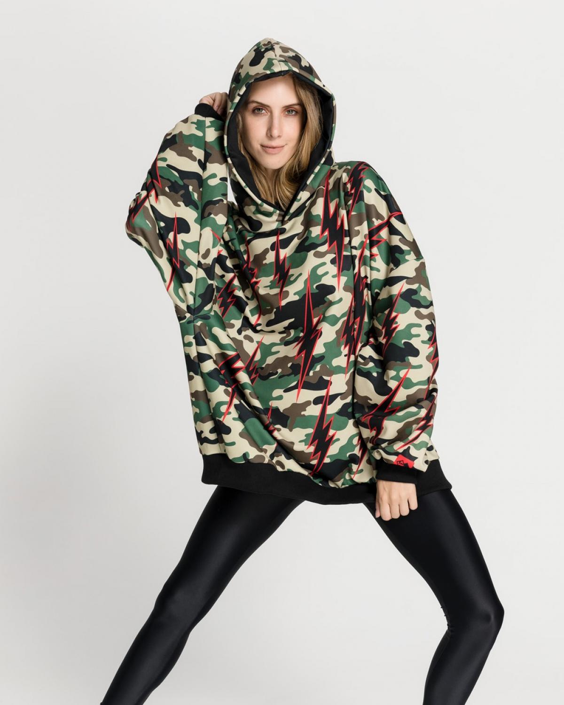 Camo Thunderstrikes Sweatshirt