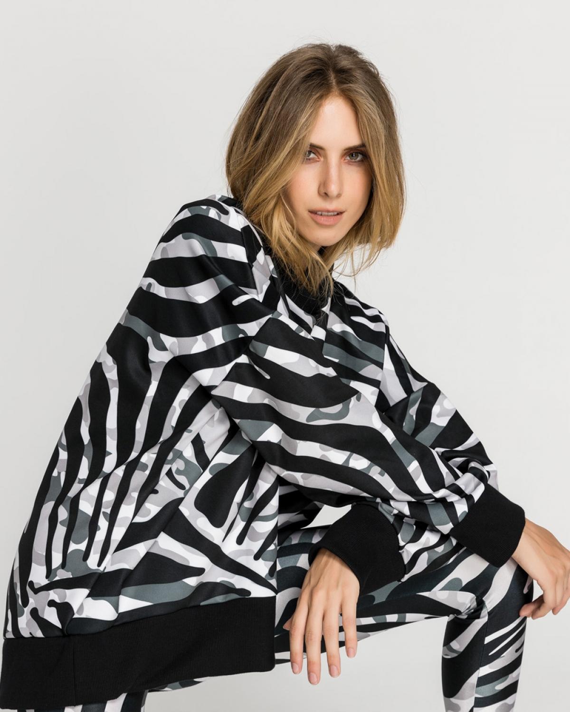 Camo Urban Zebra Sweatshirt