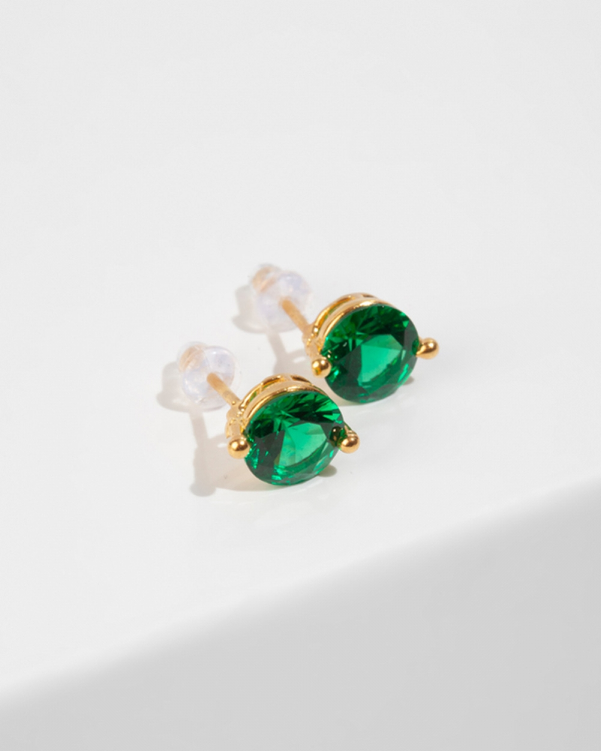 CAROLINE Green Earrings