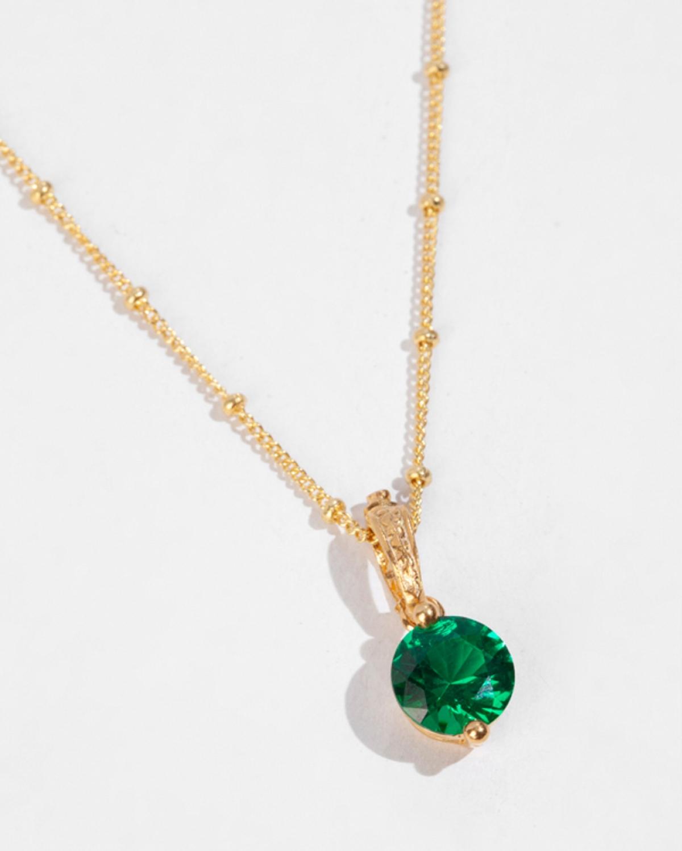 CAROLINE Green Pendant
