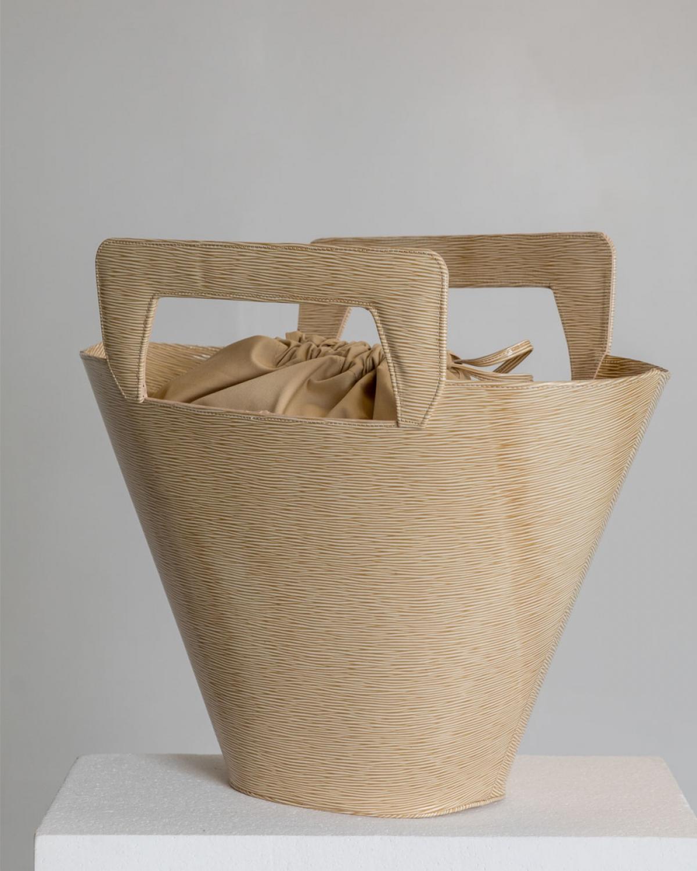 Carrie Creme Bag