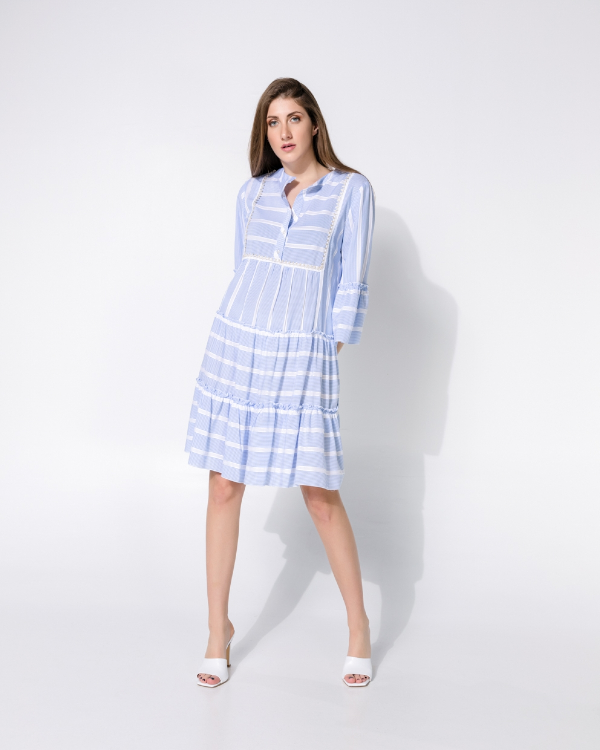 Chamellea Light Blue Dress