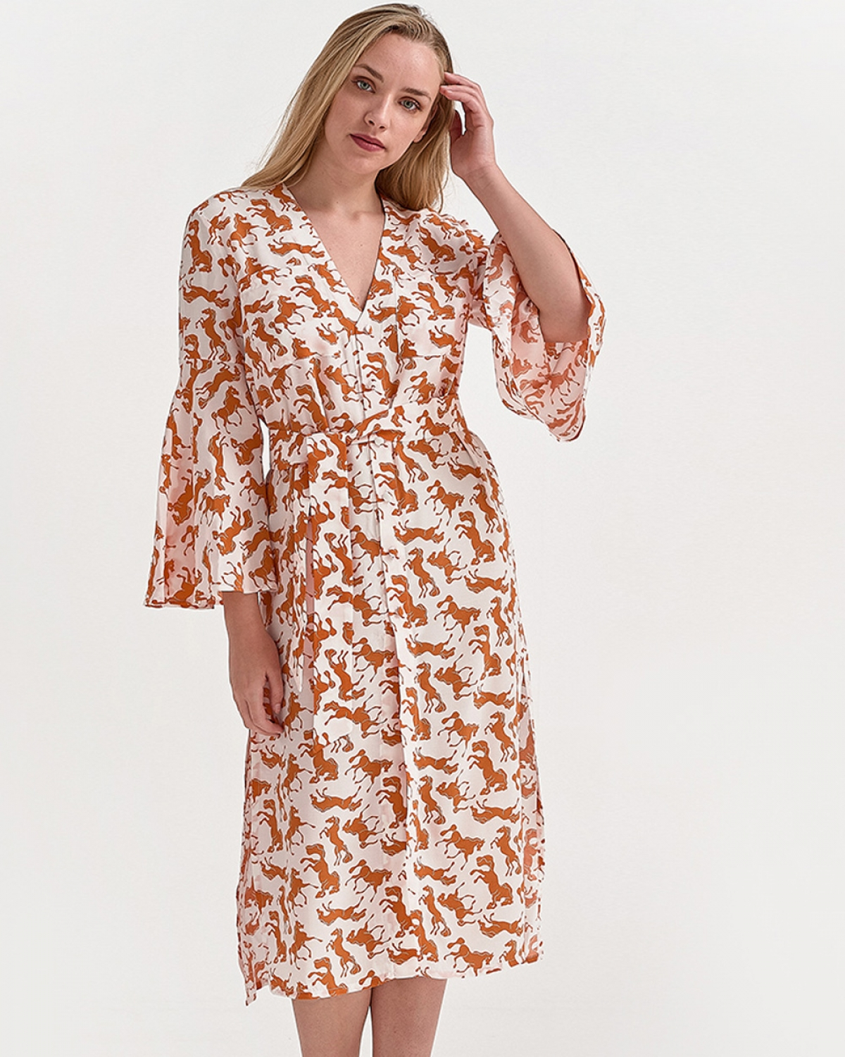 Cheval Printed Dress