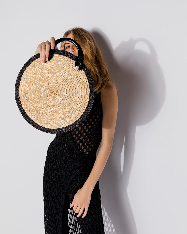 Circle Straw Bag
