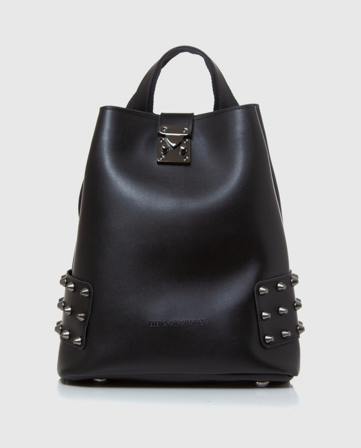 City Lady Black Backpack