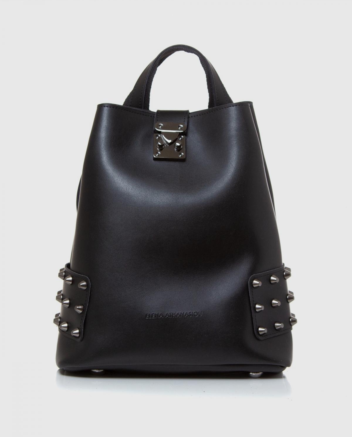 City Lady Black Backpack