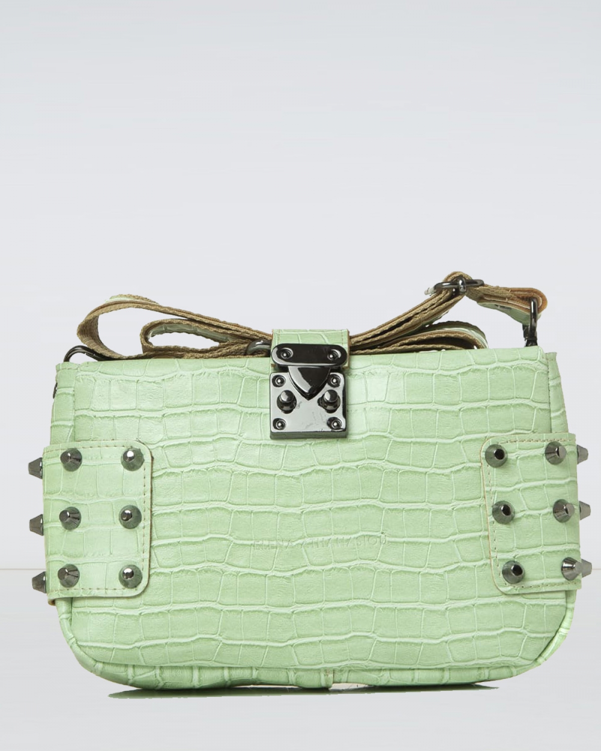 City Lady Clutch Croco Mint Bag
