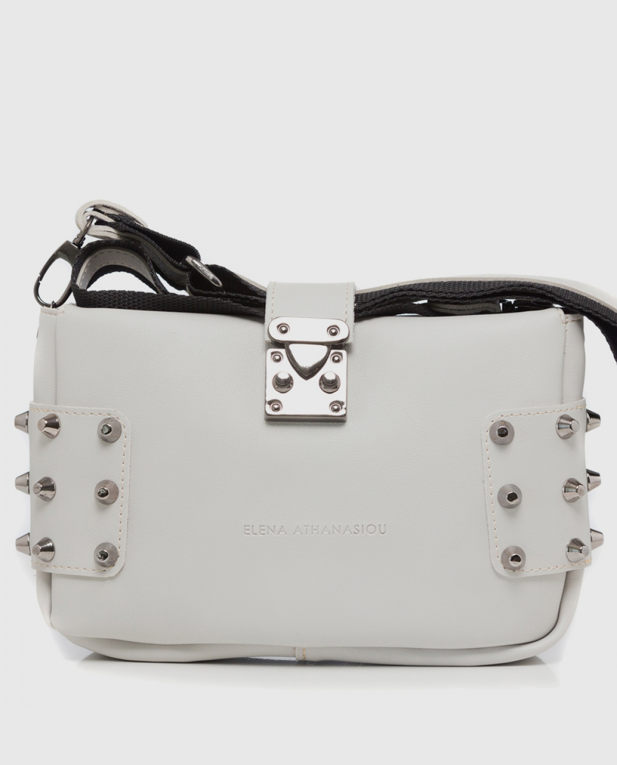 City Lady Off White Shoulder Bag