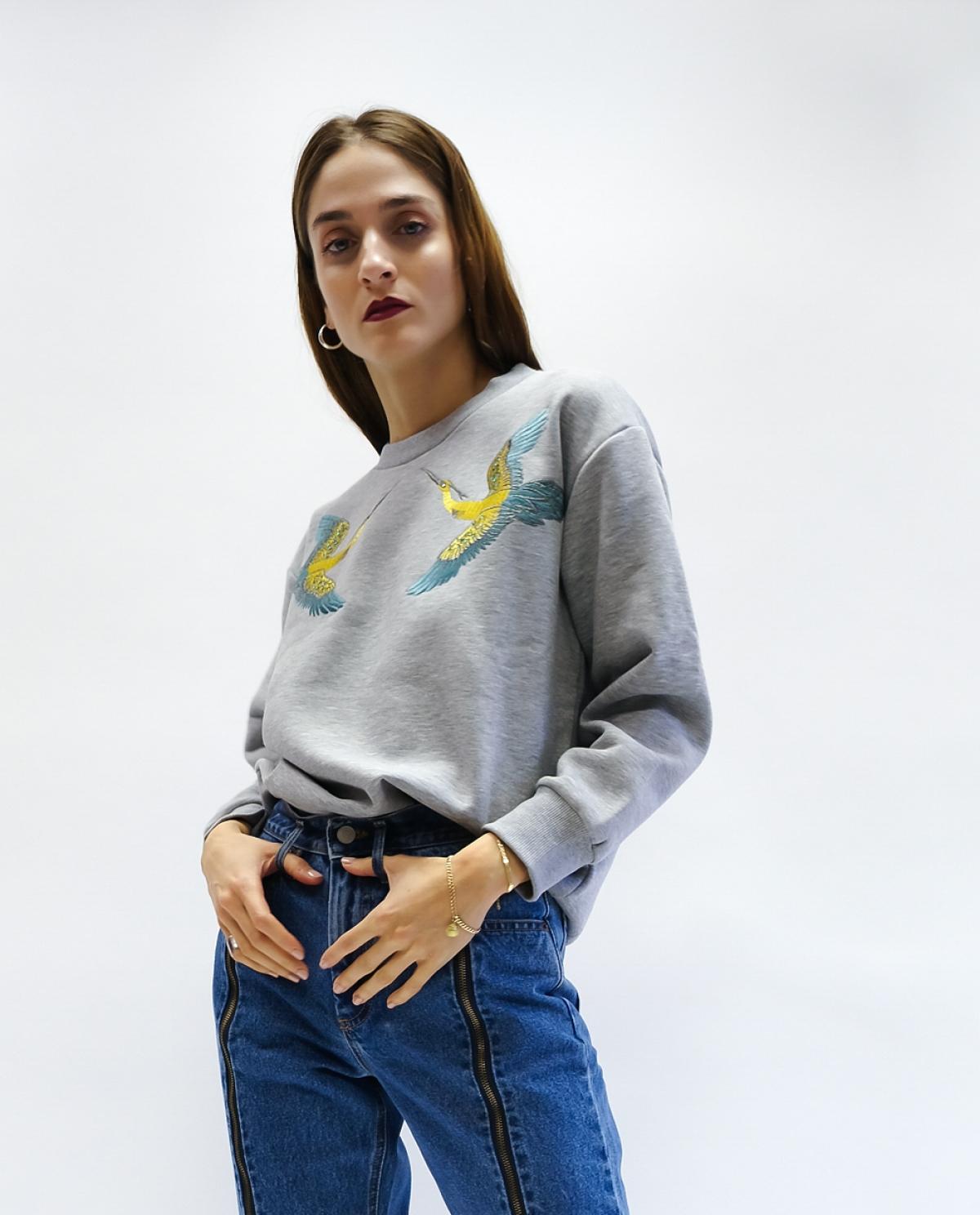 Colibri Grey Sweatshirt