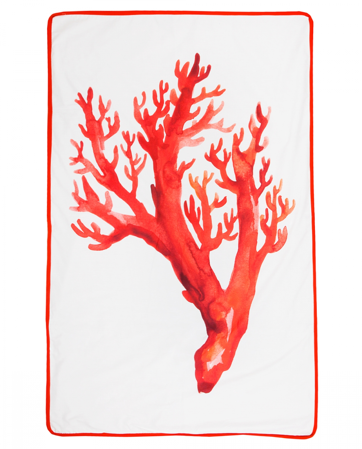 Coral Beige Beach Towel