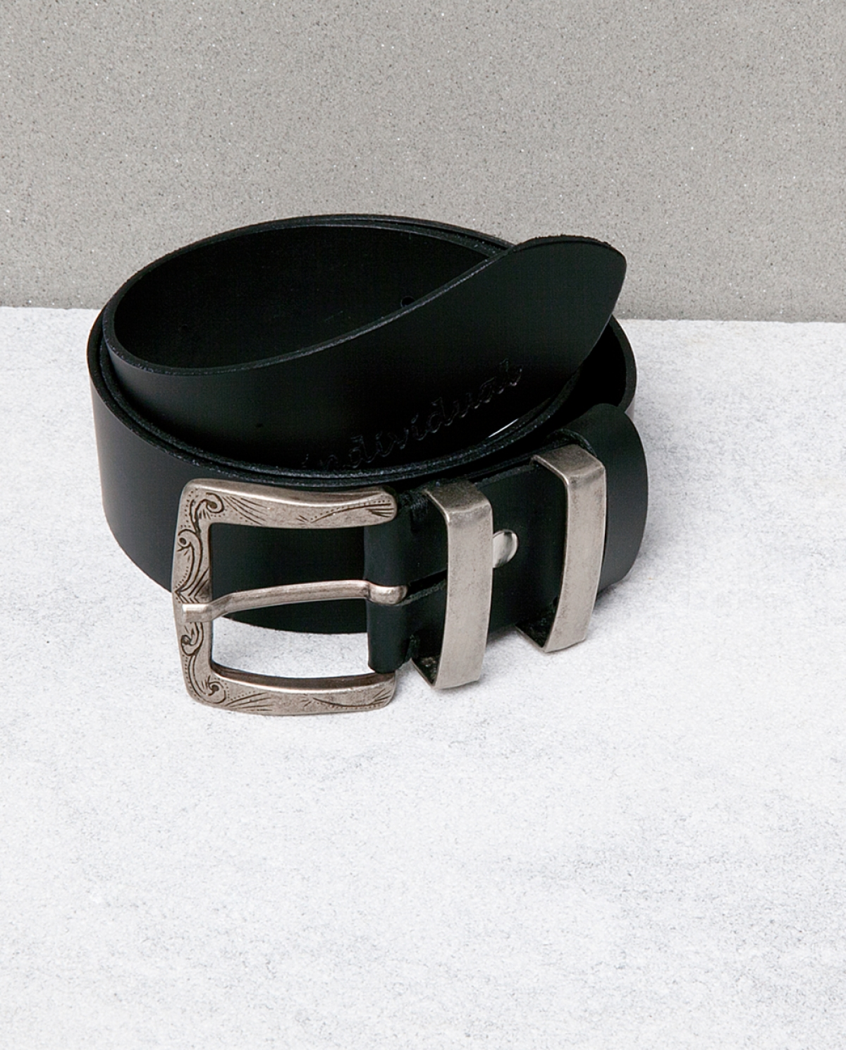 Craved Leather Belt