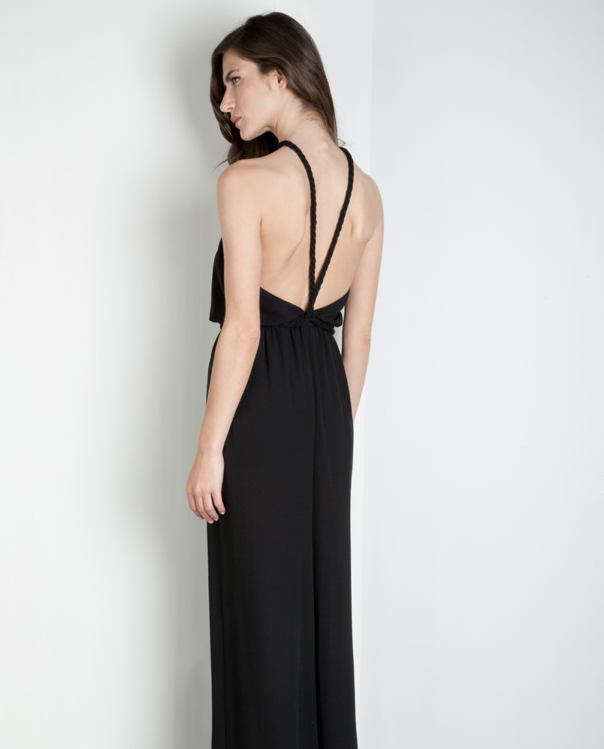 Crossed Liquid Jumpsuit
