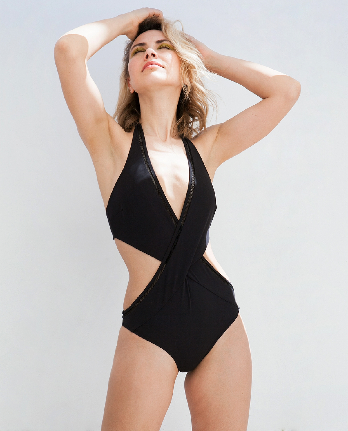 Danae One-Piece Black Swimsuit