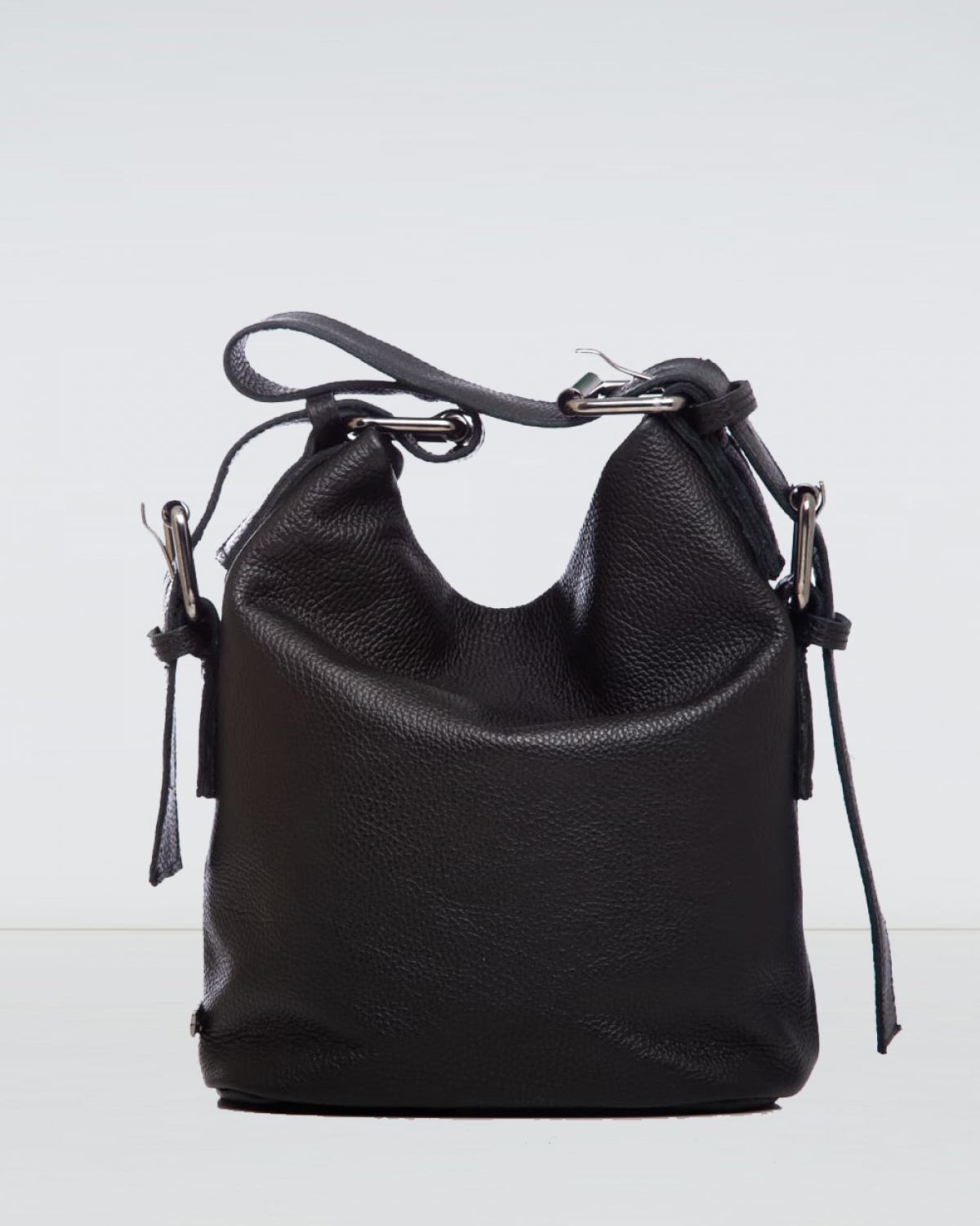 Day to Evening Black Small Pouch Bag
