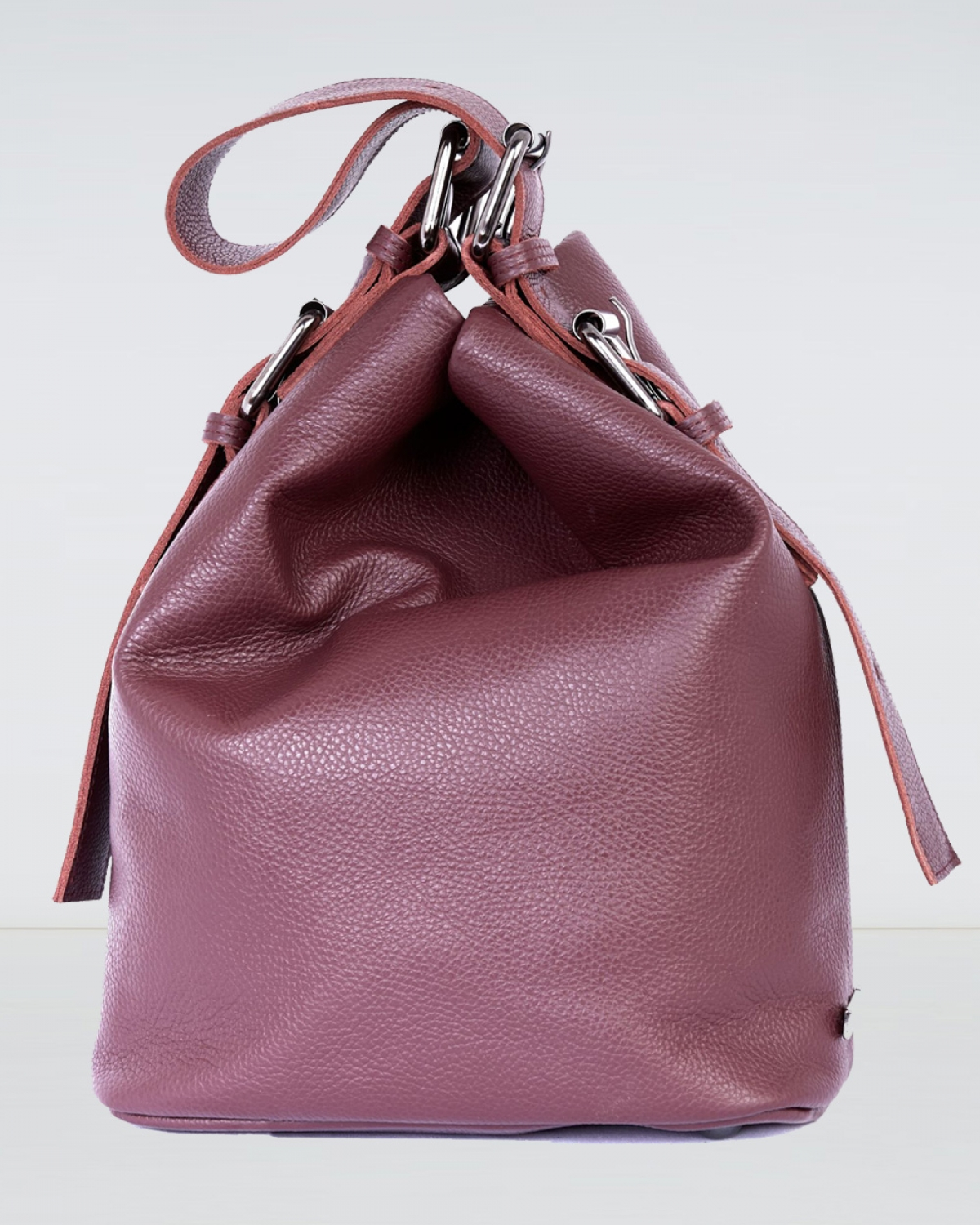 Day to Evening Burgundy Large Pouch Bag