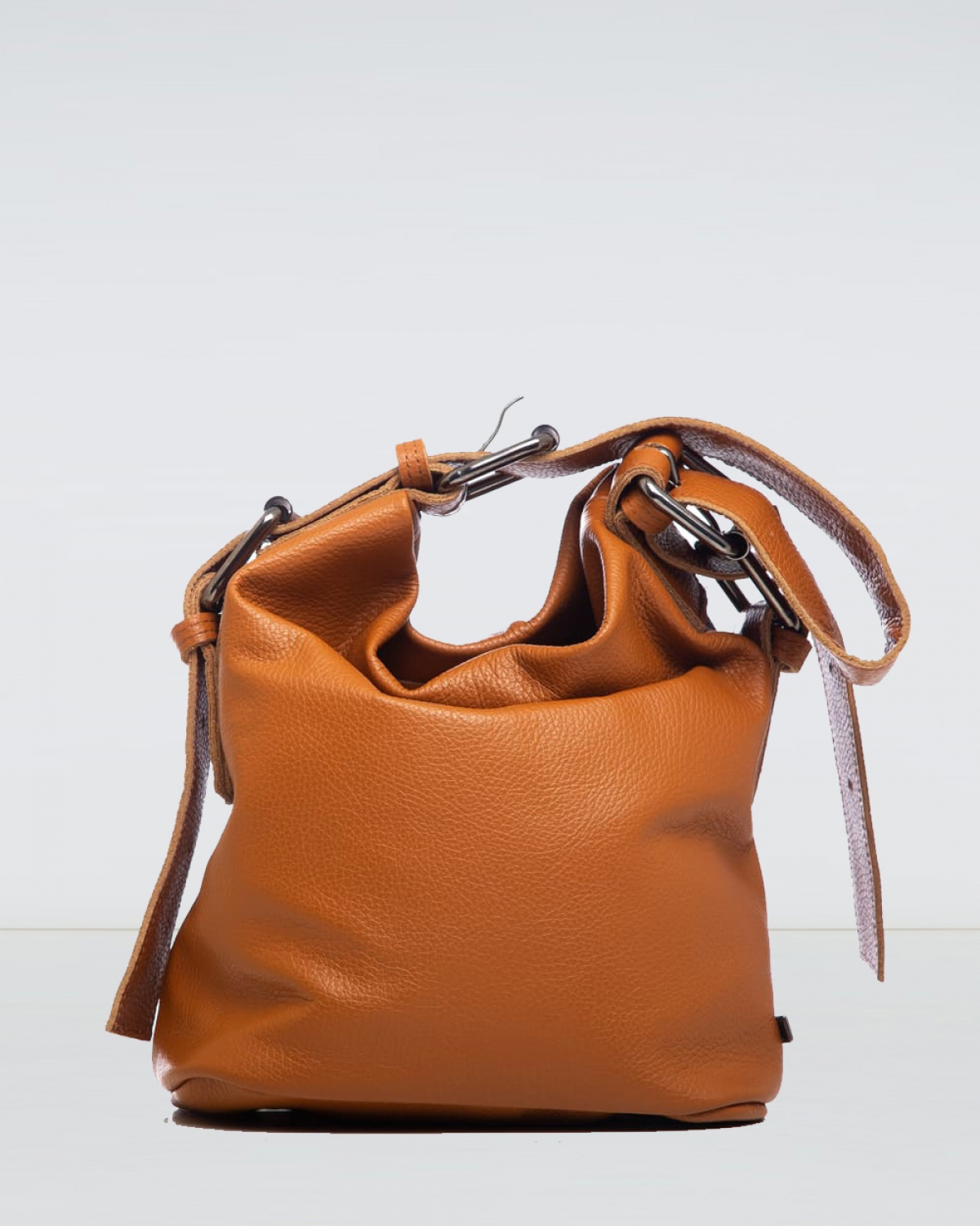 Day to Evening Cognac Small Pouch Bag