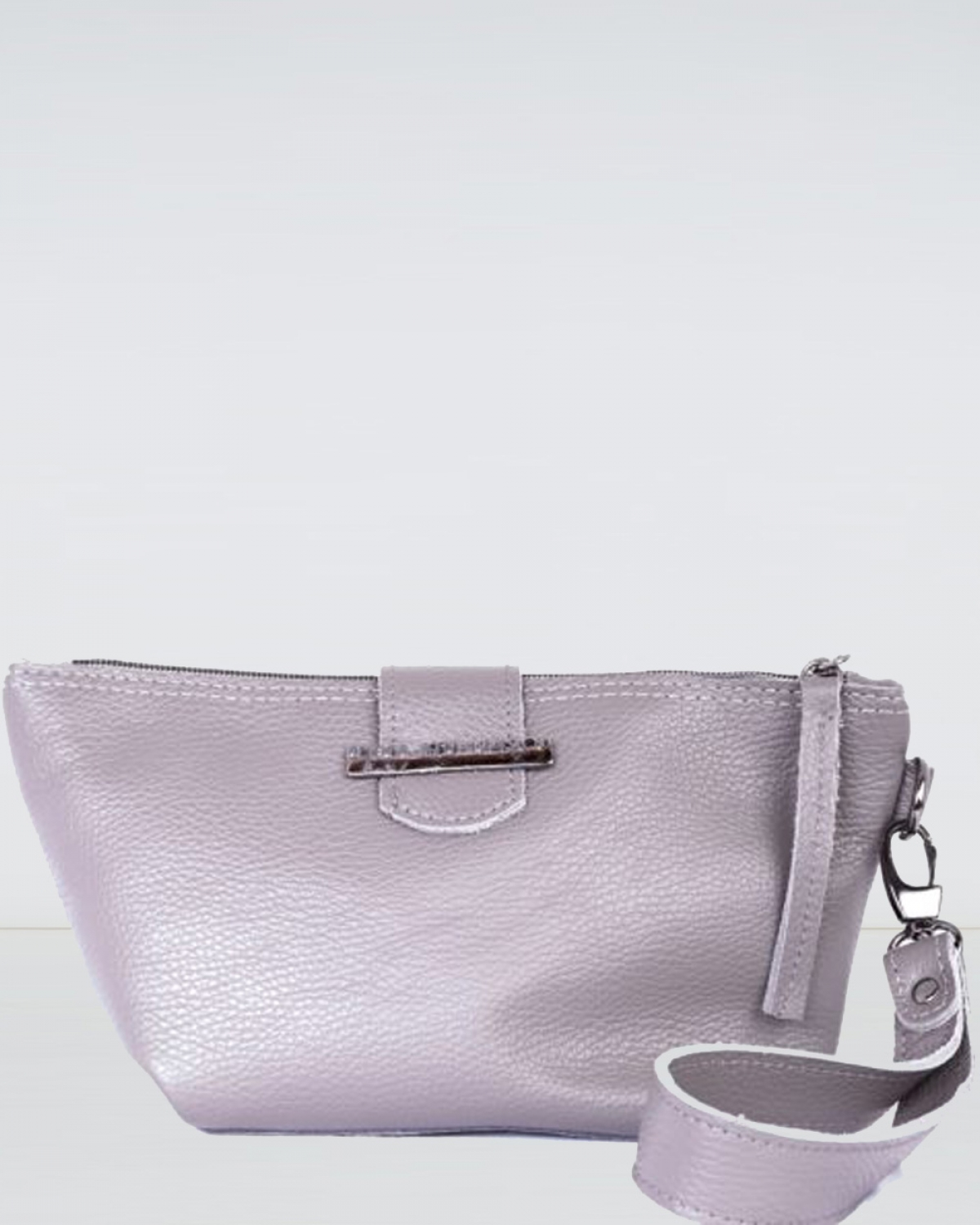 Day to Evening Grey Clutch