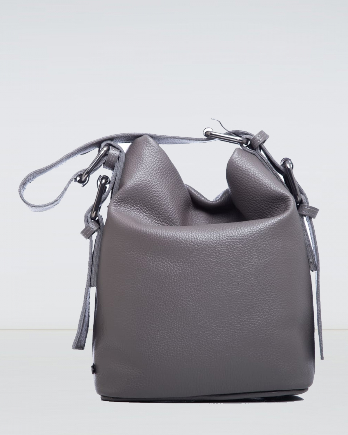 Day to Evening Grey Small Pouch Bag