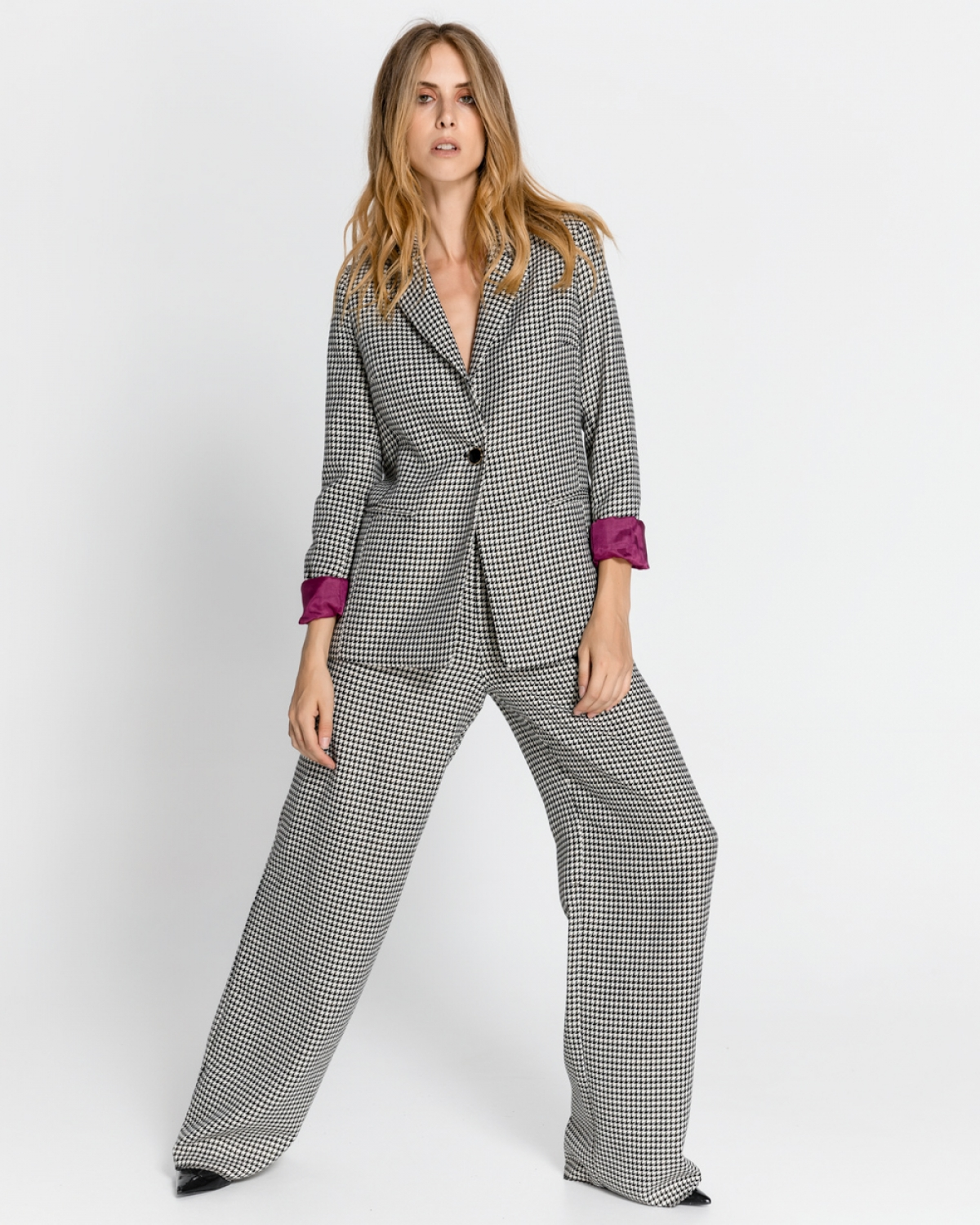 Diani Checked Blazer
