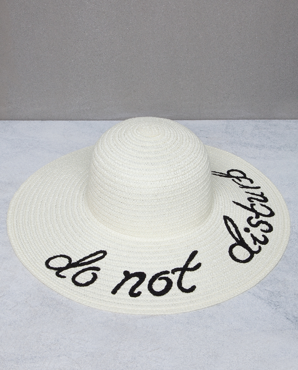 Do Not Disturb Hand Painted Hat