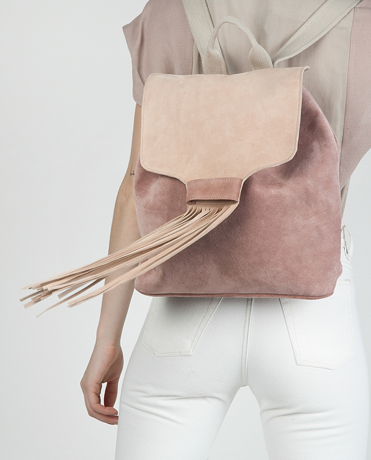 Dusty Rose Backpack