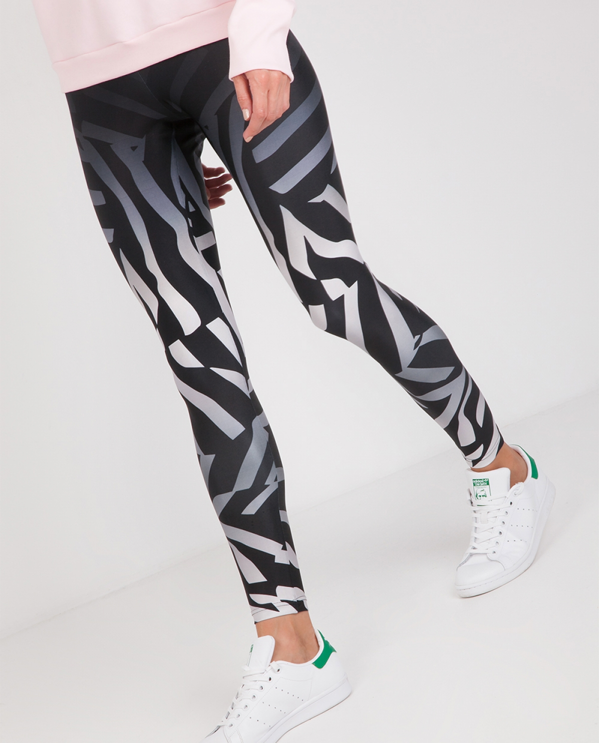 Erte Broken Zebra Leggings